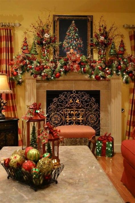 southern living christmas mantel decorations pretty