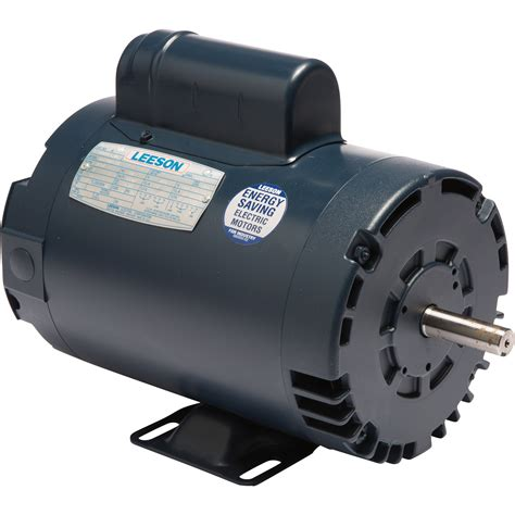 1 2 Electric Motor by Leeson Reversible Electric Motor 2 Hp 3 450 Rpm 230