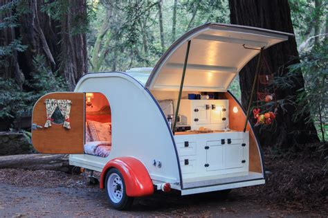 millennials tent  vintage trailer  making