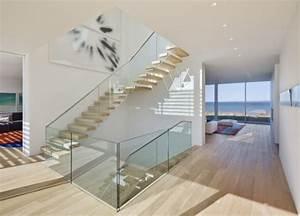 Treppengeländer Mit Glas : glas gel nder treppen holz stufen gel nder innen pinterest treppe holz gel nder treppe ~ Markanthonyermac.com Haus und Dekorationen