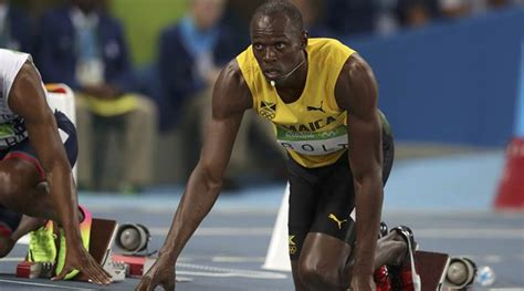 Usain Bolt wins men's 100m final gold in 9.81 seconds ...