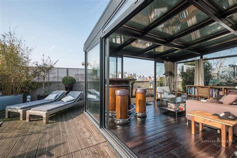 pantin penthouse avec terrasses  vue panoramique