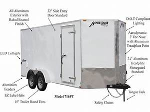 Patriot Enclosed Trailers
