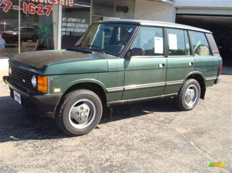 1993 Dark Green Metallic Land Rover Range Rover County