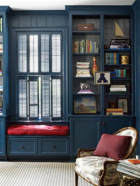 deep blues  window seat home space