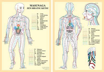 Zen Shiatsu Meridian Chart