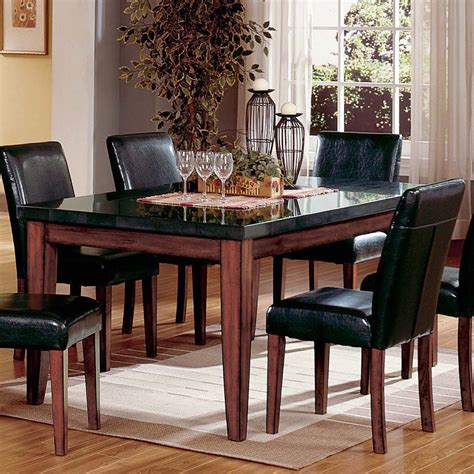 granite top kitchen table dining table furniture granite top dining table