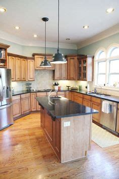 kitchens  oak cabinets