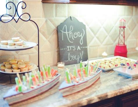 nautical baby shower food ideas kara s ideas nautical baby shower birthday