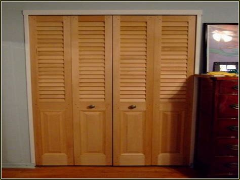 replace folding closet doors the two doors and center