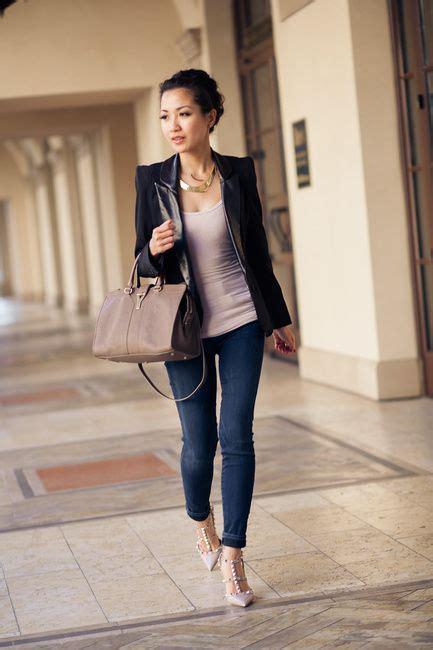 17 best images about Blazer on Pinterest | Black blazers Black blazer jeans and Pump
