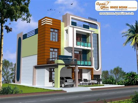 Modern House By Triplex Arquitetura by Modern Triplex House Design Area 223 Sq Mt Click On