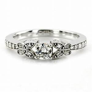 27 impressive unique vintage wedding rings navokalcom With unique vintage wedding rings
