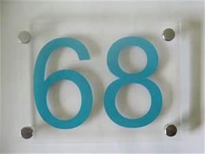 Numéro Maison Design : plaques num ro de rue numero de maison design contemporain ~ Premium-room.com Idées de Décoration