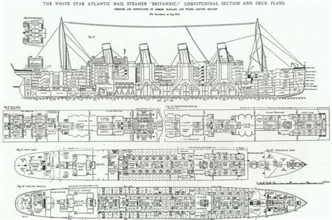 titanic deck plans d titanic