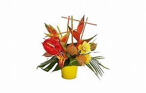 bouquet thailande With chambre bébé design avec composition de fleurs exotiques