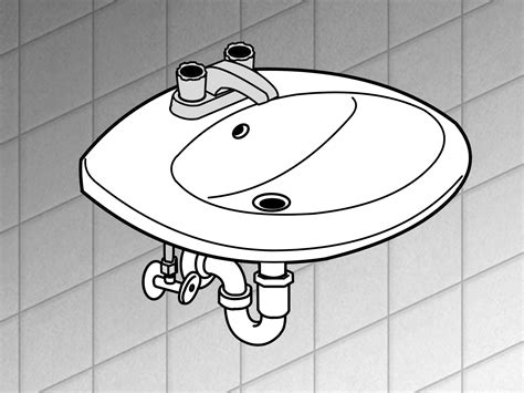 how to change a sink how to replace a bathroom sink 14 steps with pictures