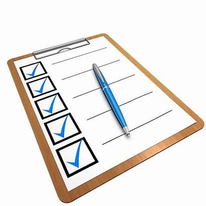 Checklist Questionnaire Clipboard Check Pixabay Illustration