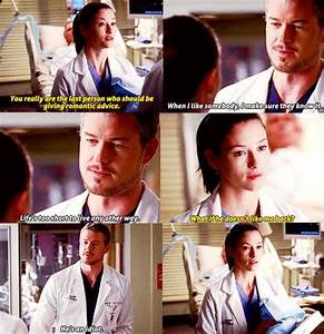 Slexie. Meant to be - Mark Sloan and Lexie Grey talking ...