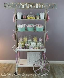 Candy Wagen Kaufen : vintage wedding candy bar perfekt f r eure shabby chic ~ Kayakingforconservation.com Haus und Dekorationen