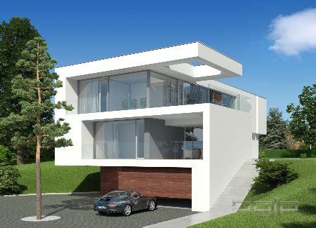 Moderne Haeuser Bauen Architektur Baustoffe Technik by Modernes Haus Am Hang In Wien Architektur Und