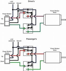 Power Window Wiring Diagram Webtor Me Extraordinary Switch