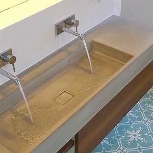 Waschtisch Aus Beton : waschtisch victum 95 und 124 waschtische aus beton ~ Lizthompson.info Haus und Dekorationen