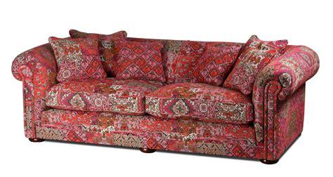 Englische Polstermöbel Landhausstil by Metropolitan Sofa In Designerstoff Alhambra