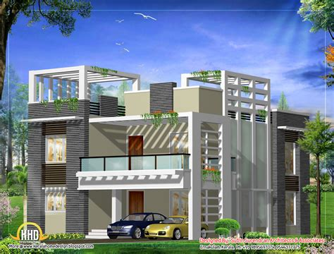 modern home plans march 2012 kerala home design and floor plans
