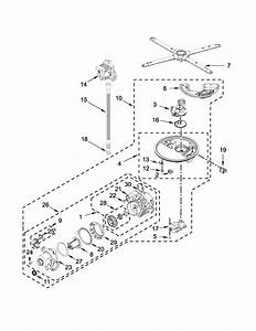 Kitchenaid Model Kdtm354dss1 Dishwasher Genuine Parts