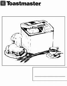 Toastmaster Bread Maker 1189s User Guide