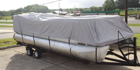 Crest Pontoon Boat Snap On Covers by Inflatable Boat Parts