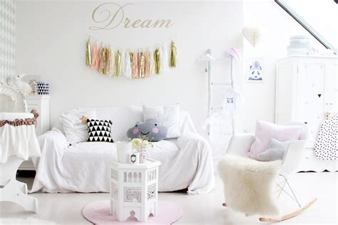 chambre bebe design scandinave déco chambre fille shabby