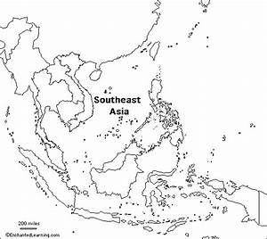 Blank Political Map Of Southeast Asia