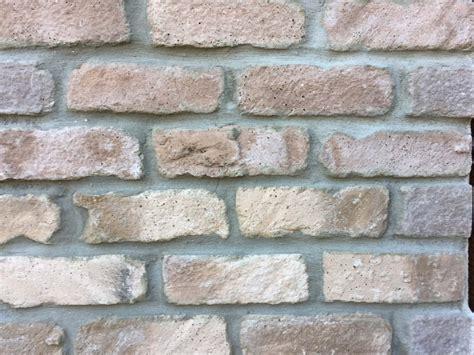 white brick veneer white mixed brick veneers morton stones 1009