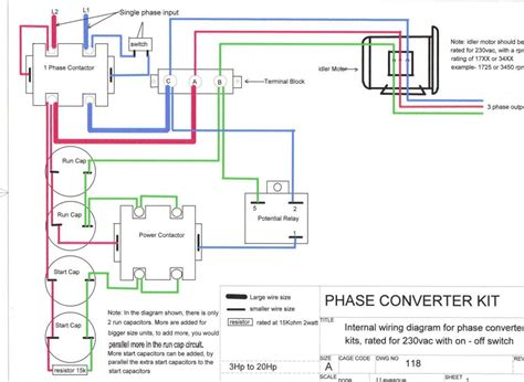 Rotary Phase Converter Help Troubleshooting
