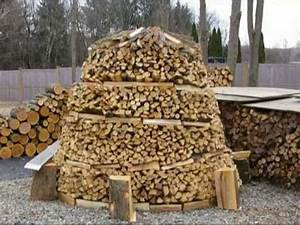 How to Build a Holz Hausen Wood House Beehive Woodpile