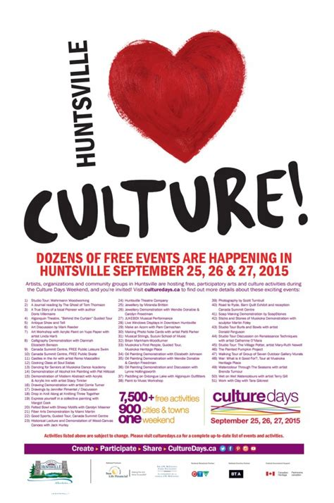 weekends culture days chock full  activities