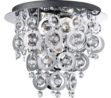 clear crystal ball chrome universal ceiling fan light kit searchlight nova 3 light flush ceiling light chrome