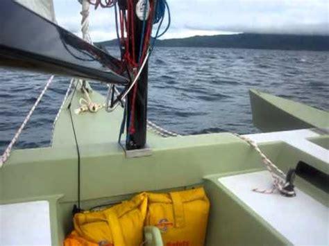 cruising  punta fuego philippines     trimaran built  melvest marine youtube