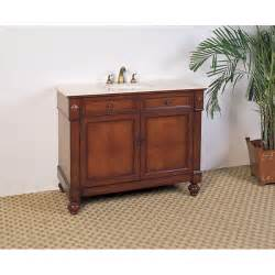 marble top 42 inch single sink bathroom vanity overstock shopping great deals on bathroom