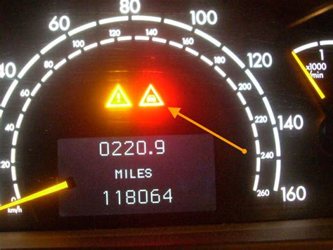 Rnever place your feet on the instrument panel, dashboard, or on the seat. Mercedes Benz Warning Lights Red Triangle | Shelly Lighting