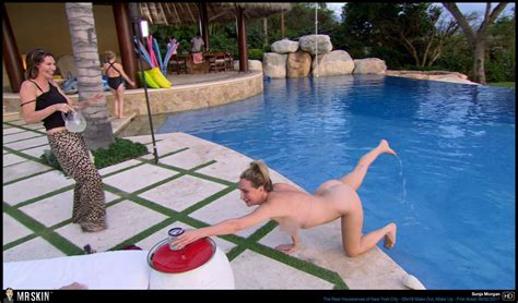 Naked Sonja Morgan In The Real Housewives Of New York City
