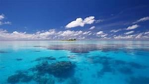 Ocean  Landscape  Desktop  Wallpaper  Free  Download  Wide