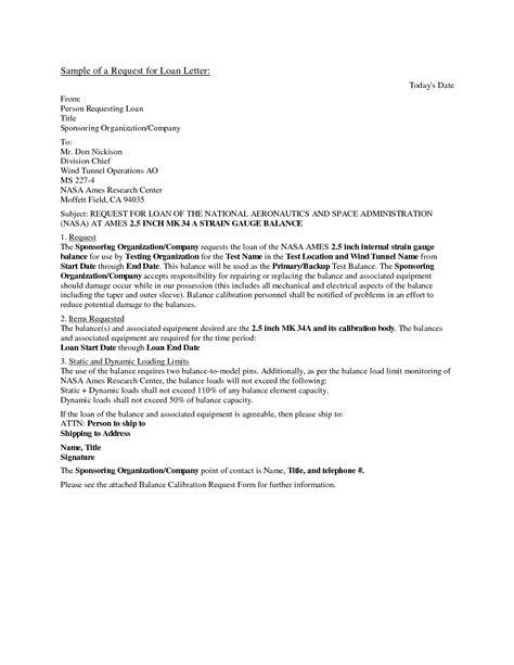 business loan application letter sample  printable