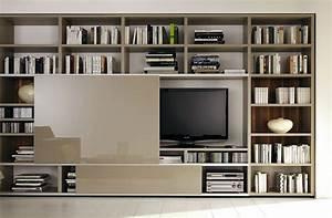 Tv Möbel Ecke : tv und bibliotheksystem mega design von h lsta bild 24 sch ner wohnen ~ Frokenaadalensverden.com Haus und Dekorationen
