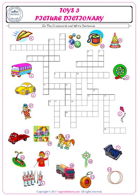 esl printable toys english worksheets  exercises