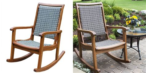 resin patio rocking chairs modern patio outdoor