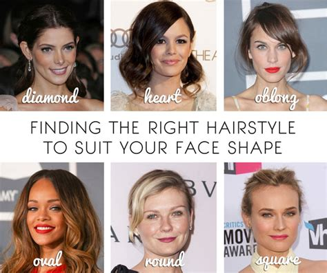 hairstyles  diamond shaped face
