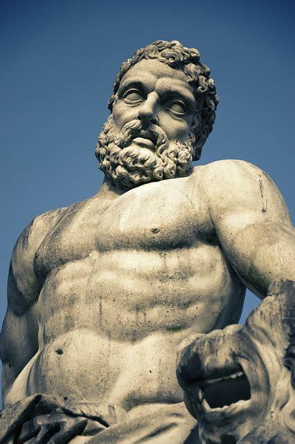 hercules statue greek ancient  photo  pixabay